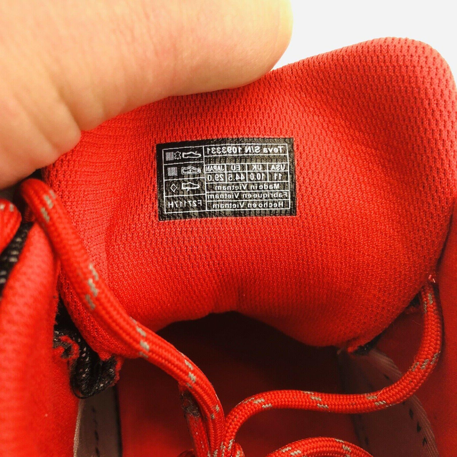 NEW Teva 11 Grey Arrowood Waterproof Hiking Boots MSRP $150