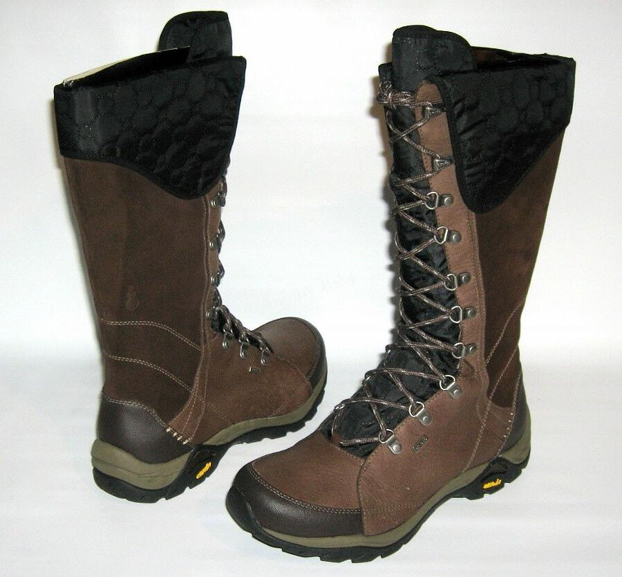 NEW AHNU MONTE VISTA BROWN BOOTS EVENT VIBRAM TRAIL HIKING B