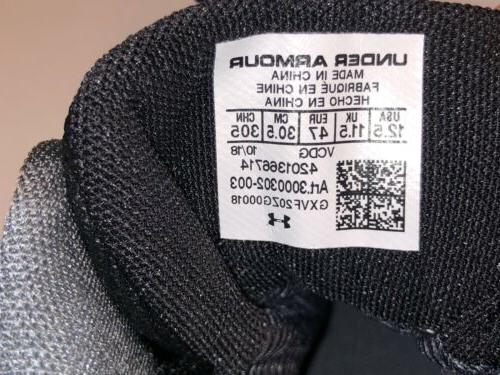 New Under 2.0 Boots Black 3000302-003 12.5