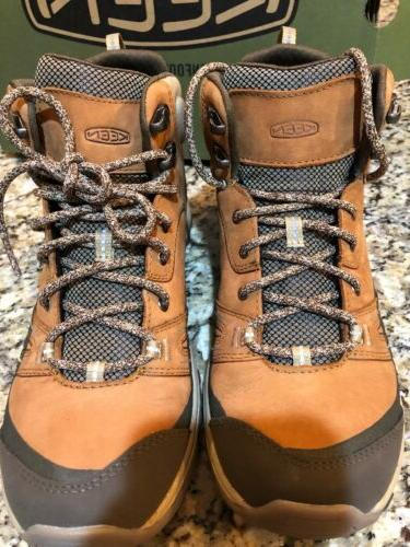 Leather Mid Boots 9.5