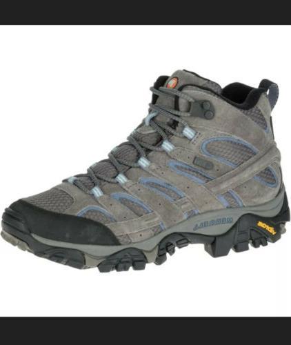 NEW Women's Women Moab 2 Mid Waterproof Granite J06054 Size 10