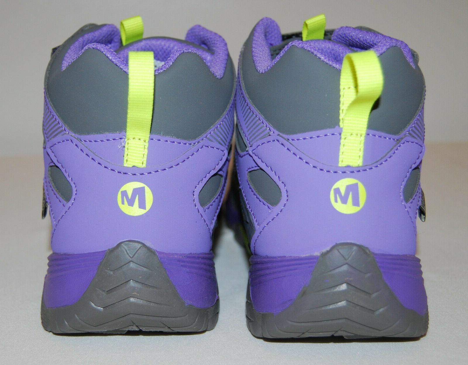 NIB Gray Mid Hiking Boots sz 4M