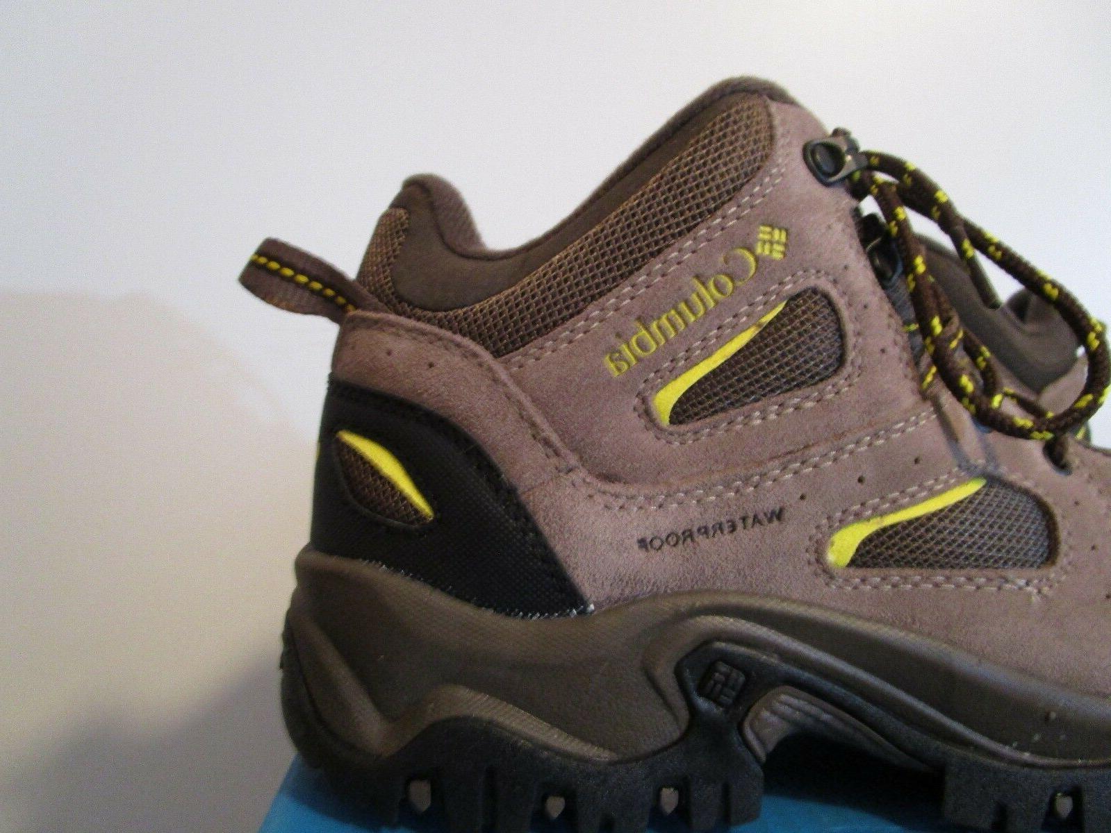 NIB Columbia Coretek II WP Waterproof Hiking Trail Hiker Shoes Boots