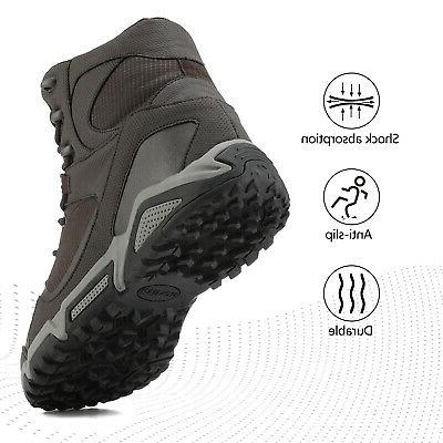 Snow Boots Outdoor Ankle Hiking Work Shoes US