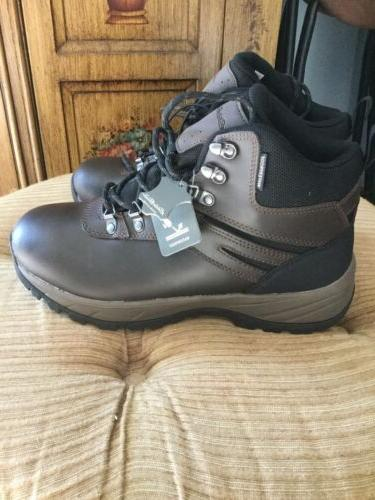 nwt mens hiking boots waterproof leather size