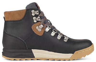 Forsake Waterproof Premium Leather Boot Black/Tan 8 US