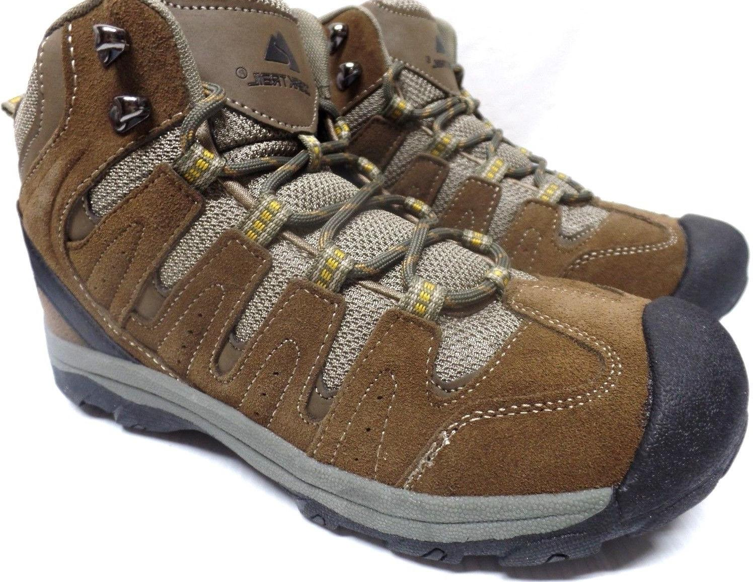 "OZARK ""TRAIL  PREMIUM HIKING BOOTS  LEATHER FLEX MIDSOLE Siz"