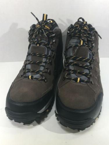 Skechers Pelmo Sz Khaki Waterproof Boots
