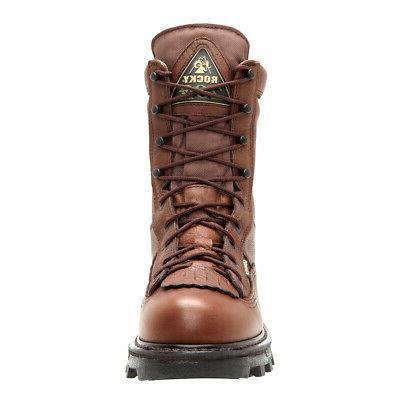 Rocky Mens Brown Bearclaw Insulated Goretex Hiking