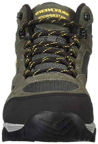 Skechers Men's Hiking Boot, Charcoal, 10 Medium US