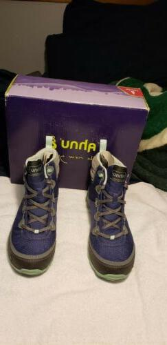 AHNU Sugarpine Waterproof Hiking Trail Boots Shoes Size US 8