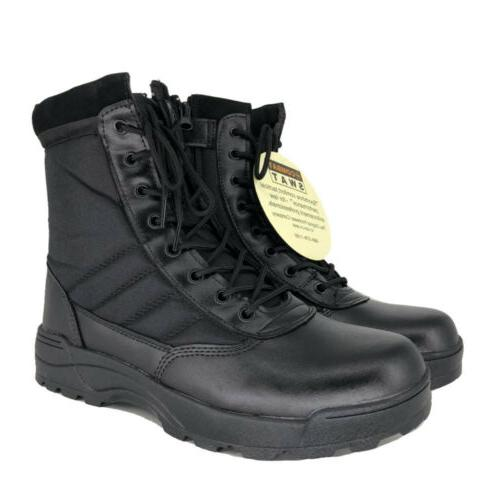 SWAT Tactical Duty Boots Work Boot Hiking 7 8