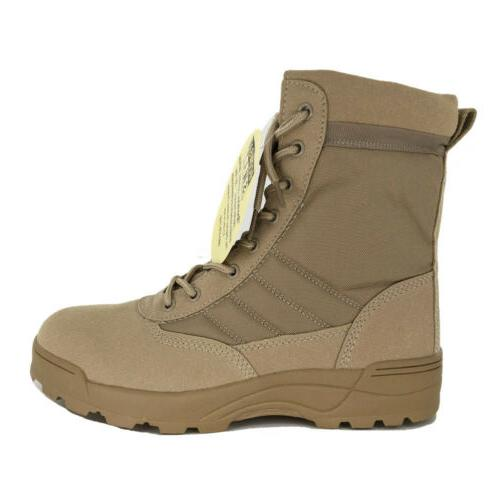 SWAT Men's Boots Army Military Boot Hiking Shoes 7 9