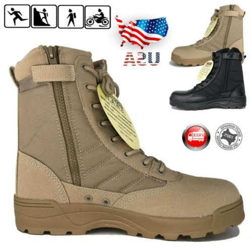 swat men s tactical duty boots army