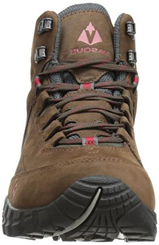 Vasque Talus Ultradry Hiking Boot, Slate Brown/Chili US