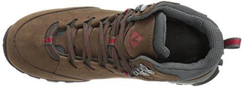 Vasque Men's Ultradry Hiking Boot, Brown/Chili US