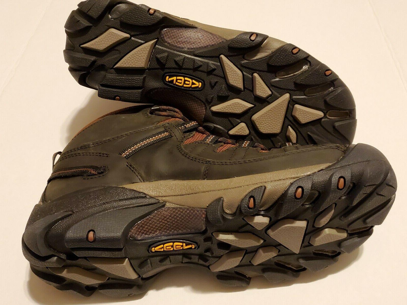 Keen Mid WP Boot Raven/Tortoise MENS