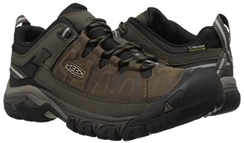 Keen Men's Leather wp-m Bungee Cord/Black, US