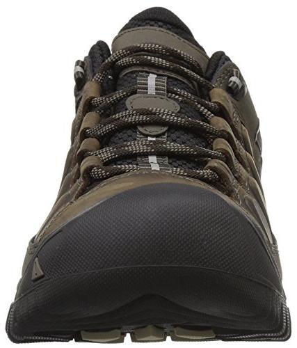 Keen iii Leather wp-m Hiking Shoe, Bungee M US