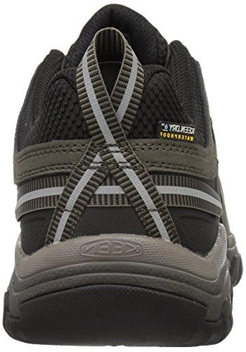 Keen Men's Leather wp-m Hiking Bungee Cord/Black, US