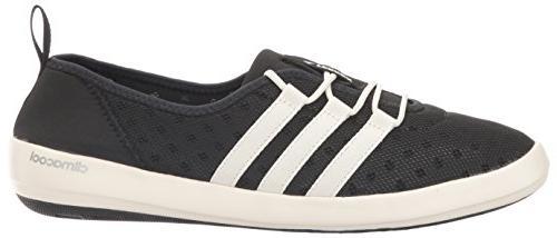 adidas outdoor Women's Terrex Climacool Boat Water Shoe, Black/Chalk White/Matte 7