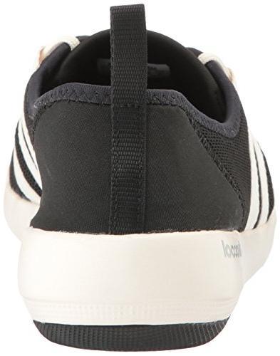 adidas Women's Climacool Sleek Water Shoe, Black/Chalk White/Matte 7 M