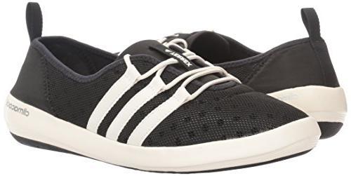 adidas Climacool Boat Shoe, Black/Chalk 7