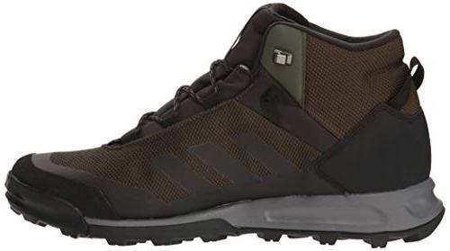 adidas outdoor Tivid MID CP, Cargo/Black/Grey Four, US