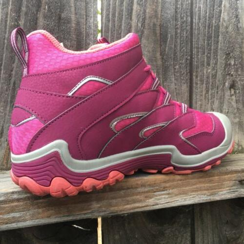 Merrell Toddler Girls Hiking Boots Shoes Waterproof