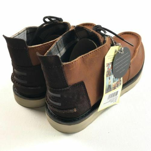 Toms Mens Brown Chukka Shoes Hiking Outdoor