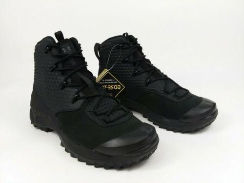 Under Hike Boots Waterproof Black Men's 8.5