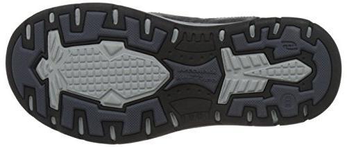 Skechers USA Men's Avillo Loafer,Black,12 W