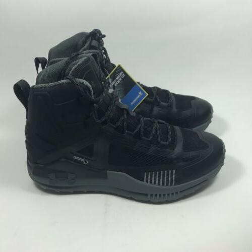 Under Armour mid gore-tex hiking boots size 10.5 black 002