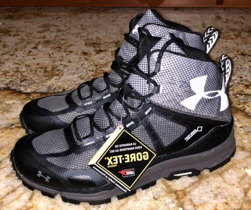 UNDER ARMOUR Verge Mid GTX Gore Tex Black Ankle Boots Hiking