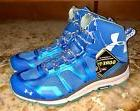 UNDER ARMOUR Verge Mid GTX Gore Tex Blue Ankle Boots Hiking