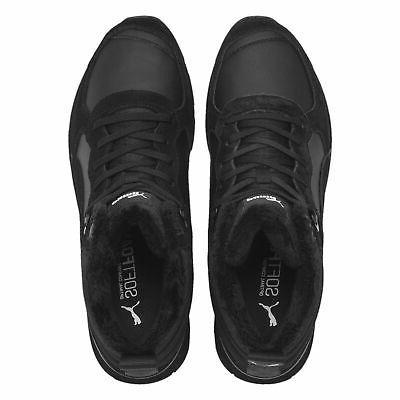 Puma Vista Men's Boots Shoes Leather Black