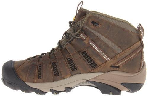 KEEN Men's Hiking Boot,Raven/Tawny M US