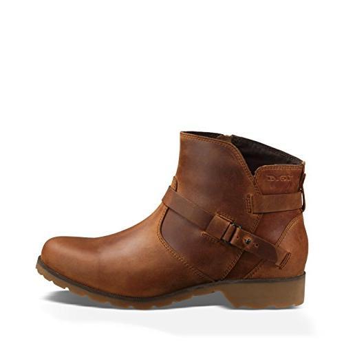 W Delavina Ankle Boot, Bison, 6.5