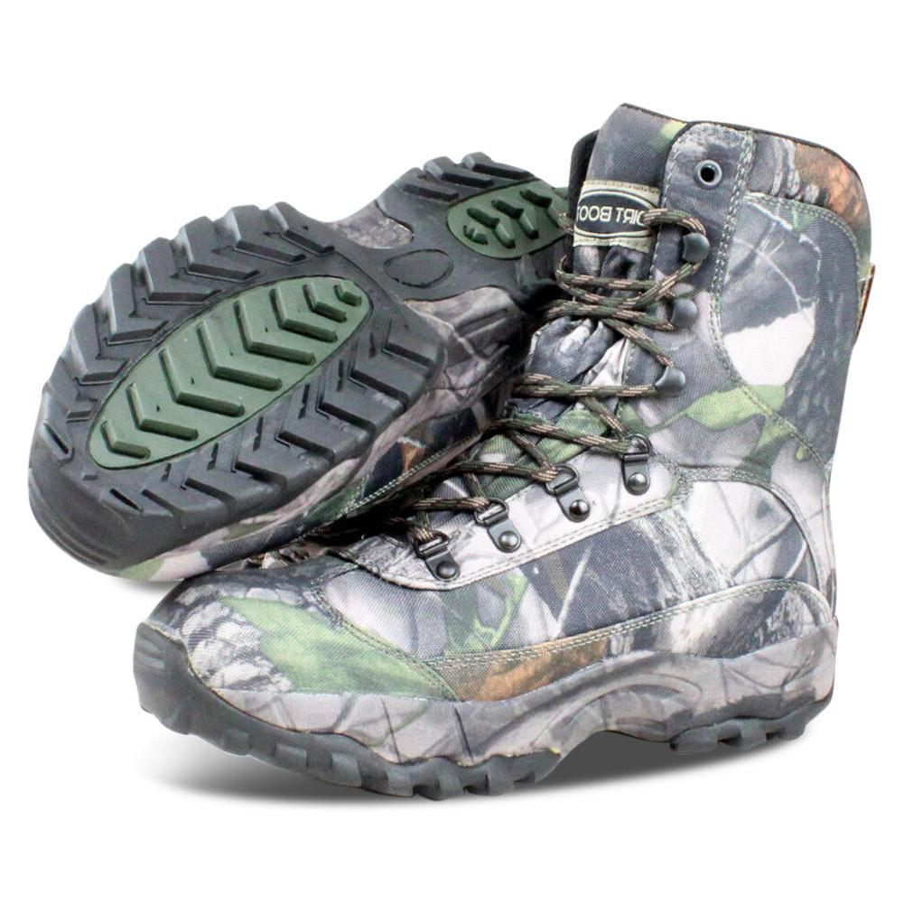 waterproof hiking ankle muck boots hunt camo