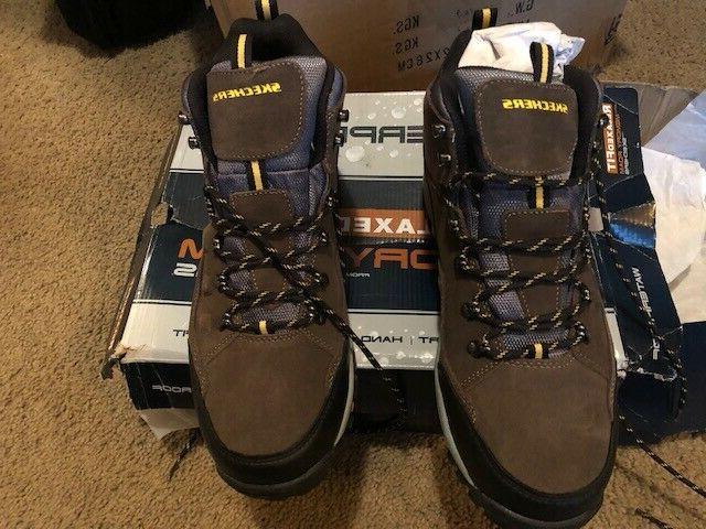 Skechers -Waterproof Men's Boots Relaxed Fit Foam