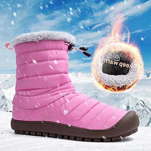 ALEADER Women's Winter Ankle 8-8.5 B US