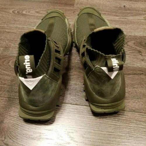 ADIDAS Mountaineering boots Mens 12 Shoes Green CG3667