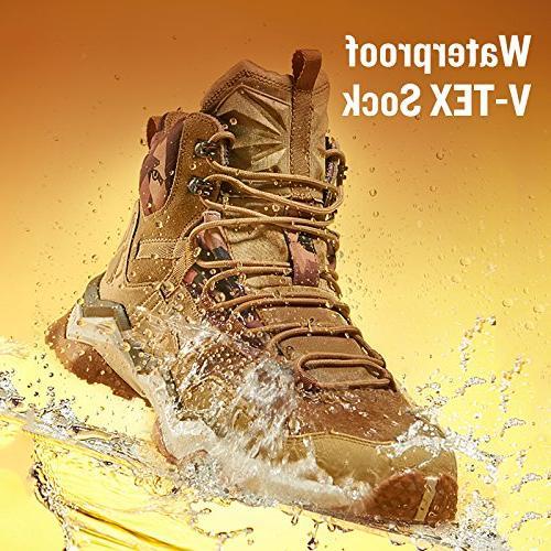 Rax Wild Mid Hiking Boots Khaki,10.5 D US