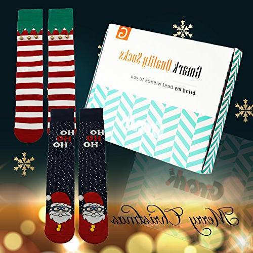 Women's Socks, Novelty Funny Bell 3D Socks