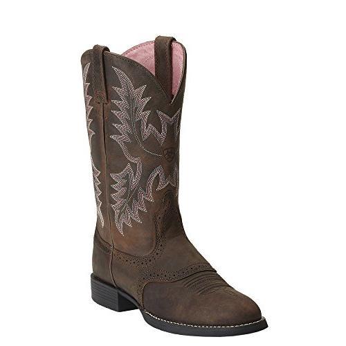 women s heritage stockman western boot driftwood
