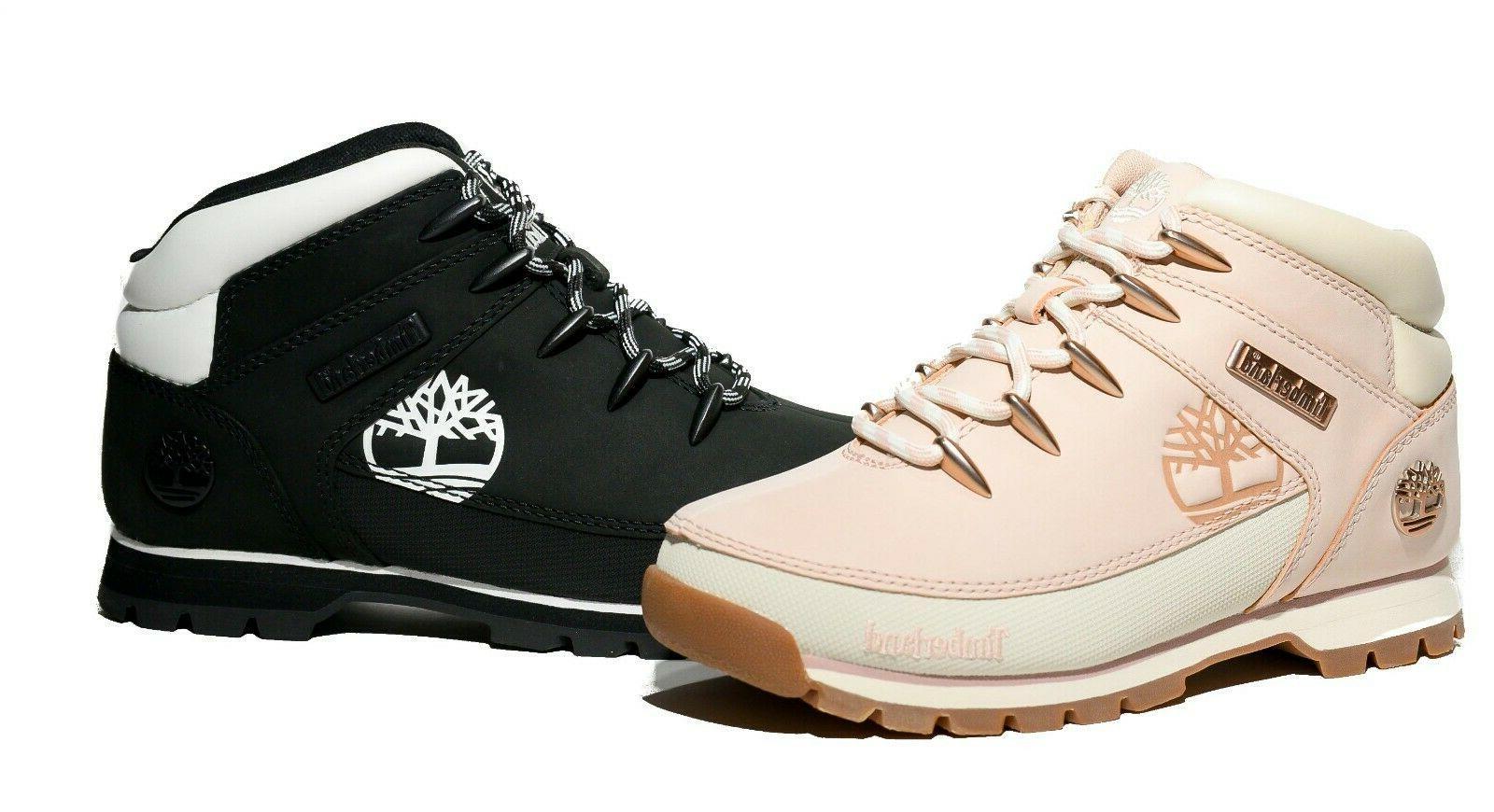 Timberland Women's Premium Euro Boots Pink /