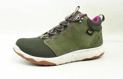 womens arrowood olive hiking boots size 7