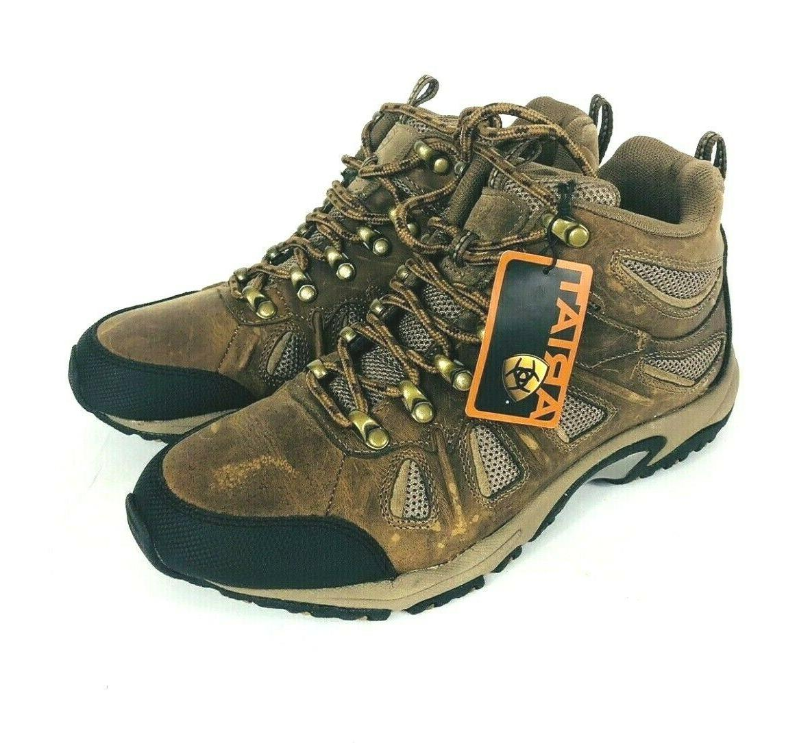 womens ridge top brown leather hiking boots
