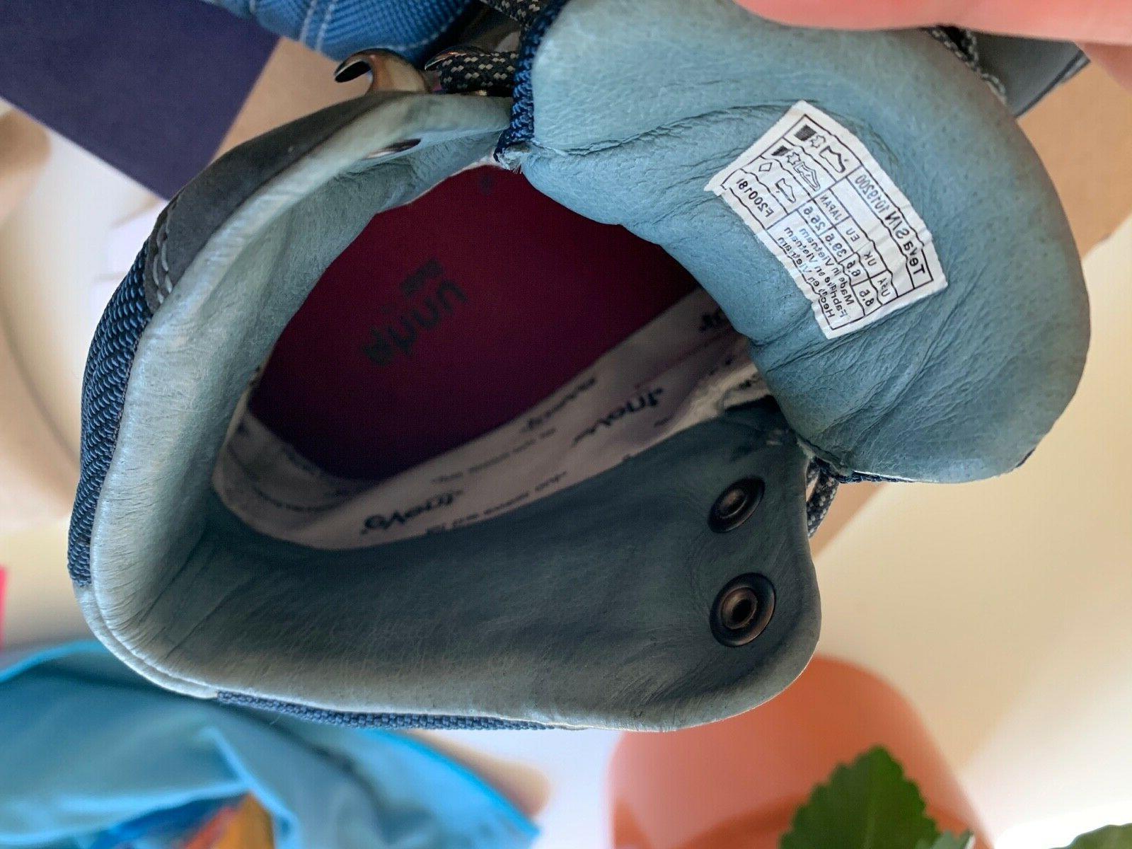 Womens Teva Montara Blue Hiking Boots