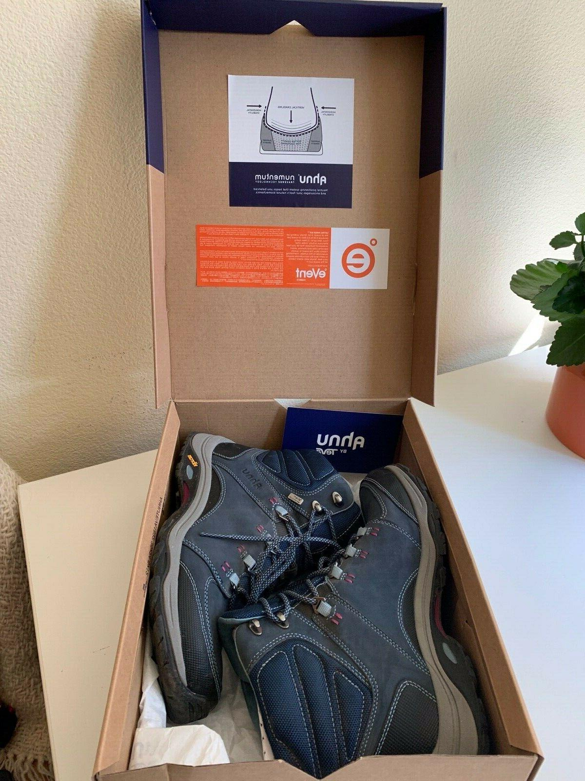 Womens 8.5 Blue Spell Ankle Hiking Boots
